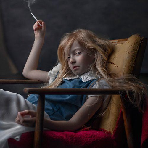 fot. Ewa Ćwikła Candy Smoke główna nagroda w konkursie Fine Art Photography Awards